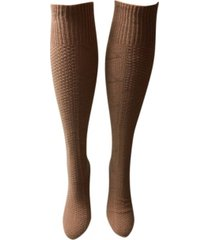 love sock company women's knee high socks - latte
