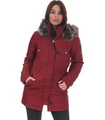 womens iris parka jacket