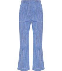 calça feminina denim greta - azul