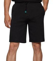 boss men's relaxed-fit logo shorts