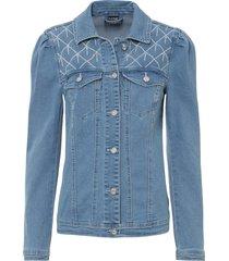 giacca di jeans con applicazione (blu) - bodyflirt