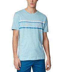 boss men's teeap dark blue t-shirt