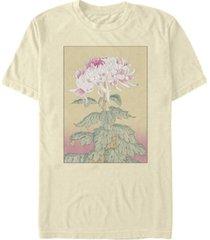 fifth sun men's asian blossom short sleeve crew t-shirt