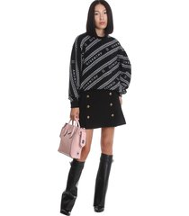 givenchy skirt in black polyamide