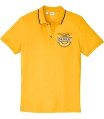 polo a maniche corte (giallo) - john baner jeanswear