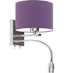 lampa na ścianę senegal z peszlem led