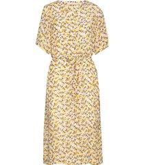 citronkb long dress jurk knielengte karen by simonsen
