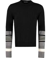 neil barrett long sleeve crew-neck sweater