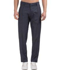 emporio armani times square trousers