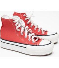zapatilla roja euro confort