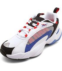 tenis lifestyle blanco-azul-rojo-negro reebok royal pervader