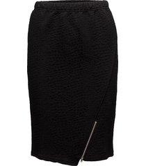 susanne skirt knälång kjol svart masai