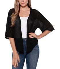 belle by belldini cropped cardigan