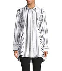 stripe tunic shirt
