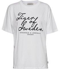 sterna pr t-shirts & tops short-sleeved vit tiger of sweden jeans