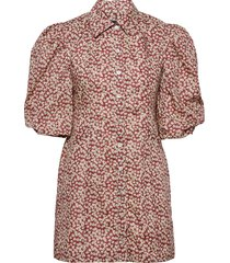 ami dress dresses everyday dresses rood birgitte herskind