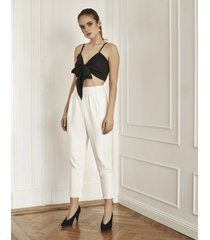 spodnie eleganckie z wysoką talią