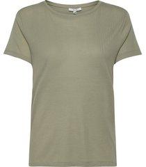 upama t-shirts & tops short-sleeved groen dagmar