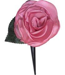 bico de pato fuxicos & frescuras rosa colombiana rosada - tricae