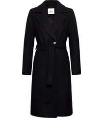 onlgina wool wrap coat cc otw wollen jas lange jas zwart only