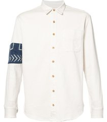 african river shirt white