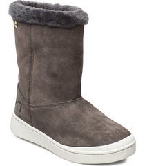 steg shoes boots ankle boots ankle boots flat heel grå kari traa
