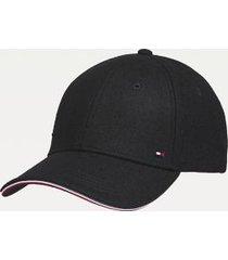 tommy hilfiger men's organic cotton cap black -