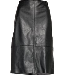 skirt short woven fa knälång kjol svart gerry weber edition
