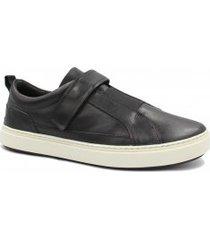 sapatênis zariff shoes em couro elastano