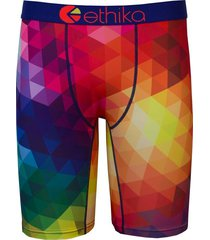 ethika the staple fit spectrum rainbow men underwear no rise boxer shorts briefs