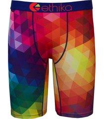 ethika the staple fit spectrum rainbow men underwear no rise boxer shorts briefs