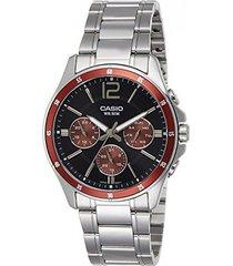reloj casio mtp-1374d-5a-gris