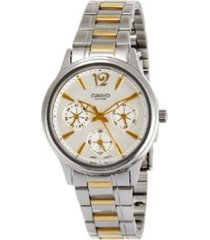 reloj casio ltp-2085sg-7a-gris
