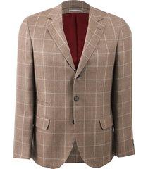 notch collar coat