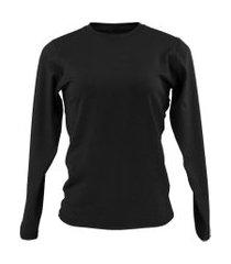 blusa térmica feminina segunda pele plus size thermo premium original slim fit
