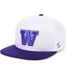 zephyr washington huskies core snapback cap