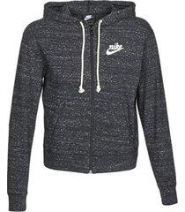 sweater nike w nsw gym vntg hoodie fz