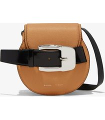 proenza schouler buckle mini crossbody bag butter rum/neutrals one size