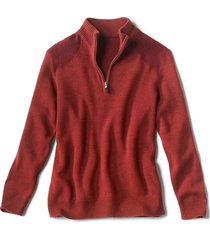 clays quarter-zip sweater