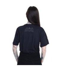 camiseta batman logo clássico preto