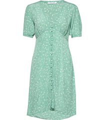 petunia short dress aop 10056 kort klänning grön samsøe samsøe