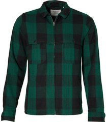 anerkjendt overhemd - slim fit - groen