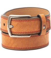 tommy hilfiger big boys faux-leather belt