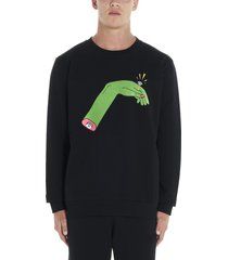marcelo burlon hand ring sweatshirt