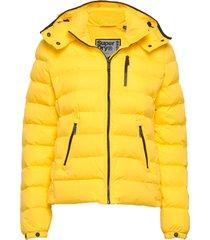 summer microfibre jacket gevoerd jack geel superdry