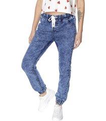 jeans jogger básico azul oscuro corona
