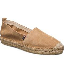 lily suede espadrillos sandaletter expadrilles låga beige lexington clothing