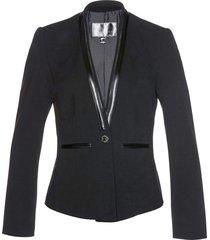 blazer corto (nero) - bpc selection