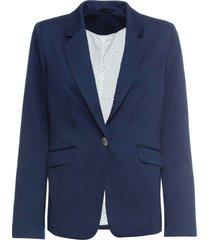 blazer in jersey con fodera a pois (blu) - bodyflirt