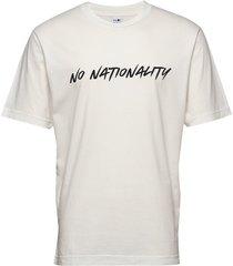 dylan print tee 3463 t-shirts short-sleeved vit nn07
